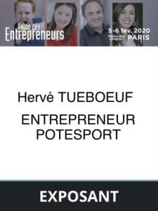 Badge entrepreneur Potesport
