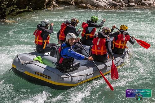 Verdon XP rafting