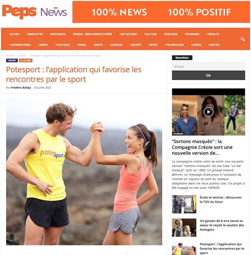 Peps news Larticle