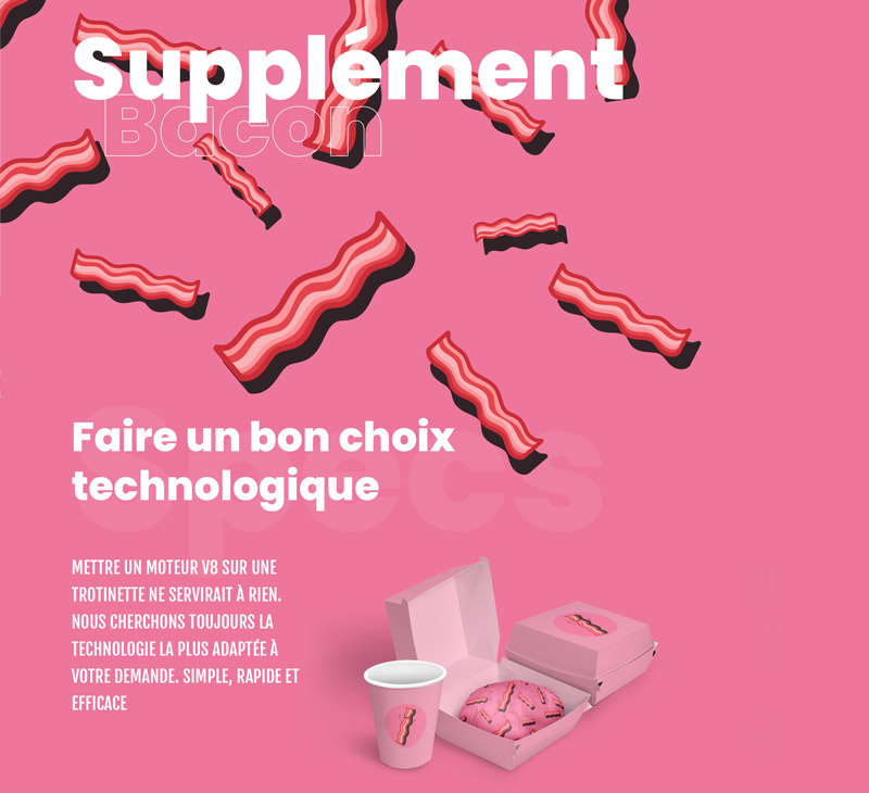 Agence supplément-Bacon