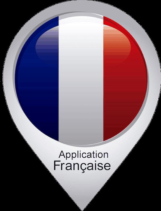 Logo application française